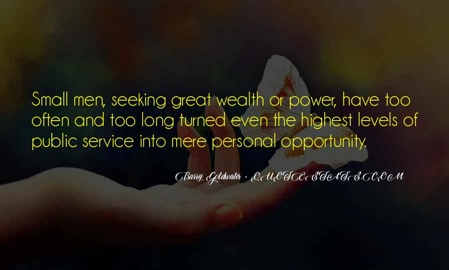 Quotes About Personal Service #1079873
