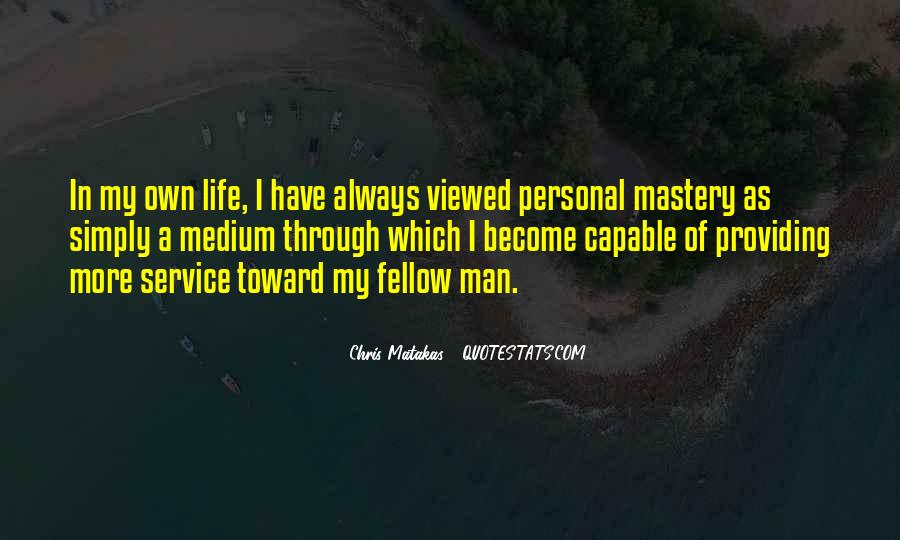 Quotes About Personal Service #1098195
