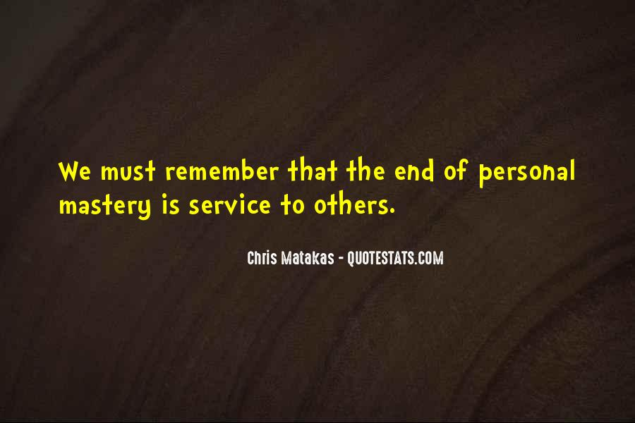 Quotes About Personal Service #1129035
