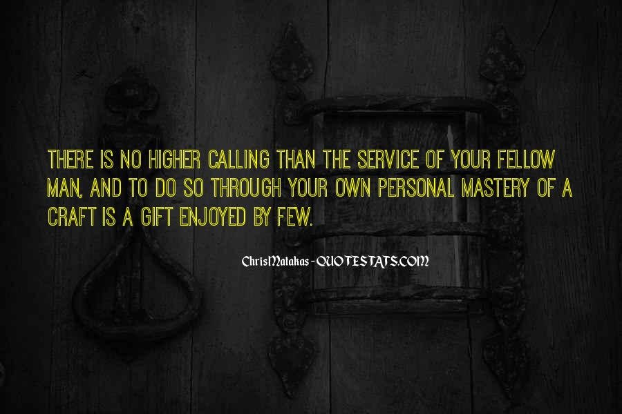 Quotes About Personal Service #1318033