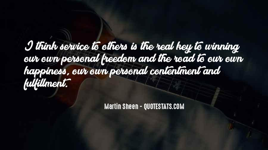 Quotes About Personal Service #136098
