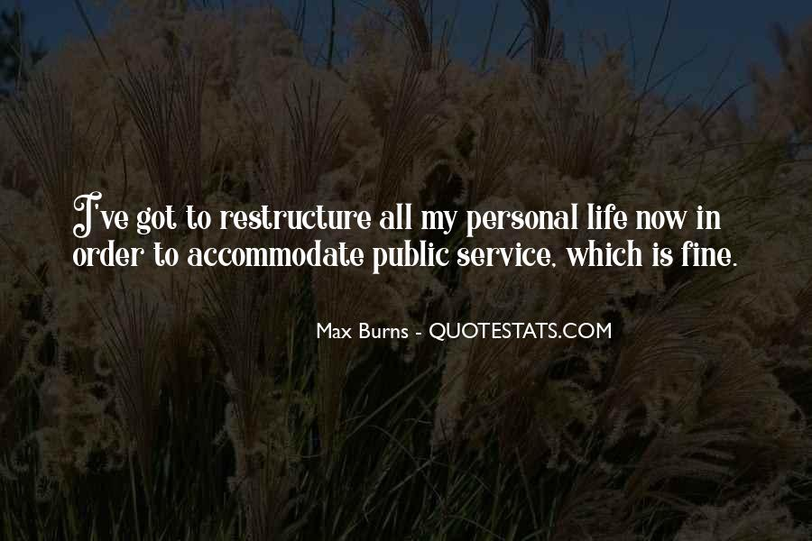 Quotes About Personal Service #1377698