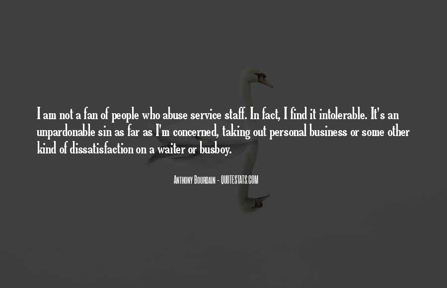 Quotes About Personal Service #1474412