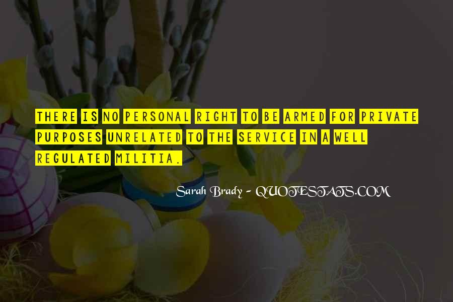Quotes About Personal Service #148305