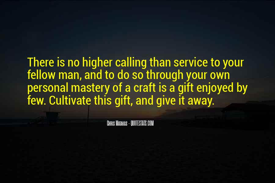 Quotes About Personal Service #1688643