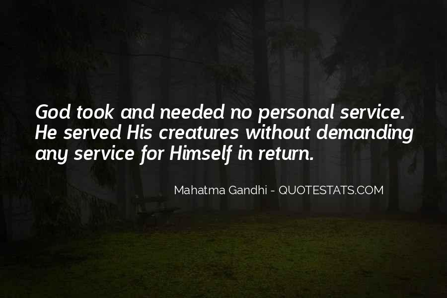 Quotes About Personal Service #1740716