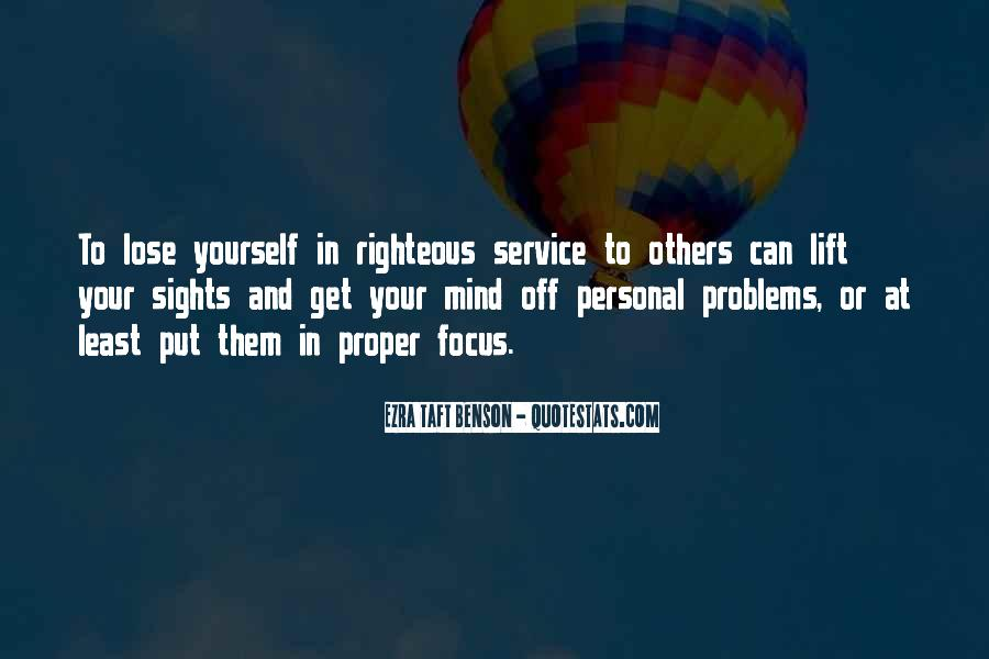 Quotes About Personal Service #538970