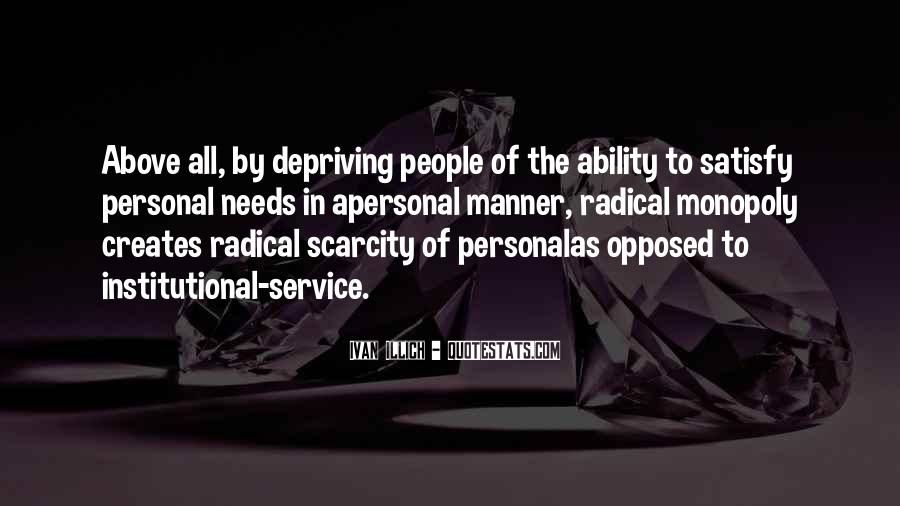 Quotes About Personal Service #575328