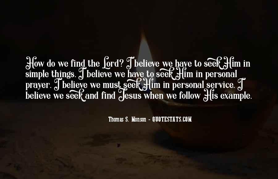 Quotes About Personal Service #642164