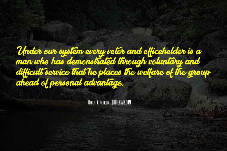 Quotes About Personal Service #980111
