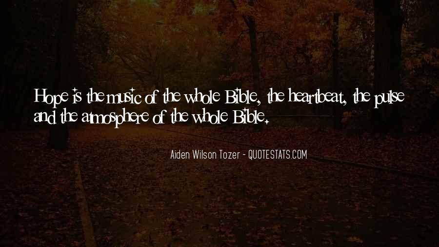Quotes About Hope From The Bible #119289