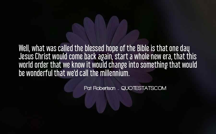 Quotes About Hope From The Bible #151477