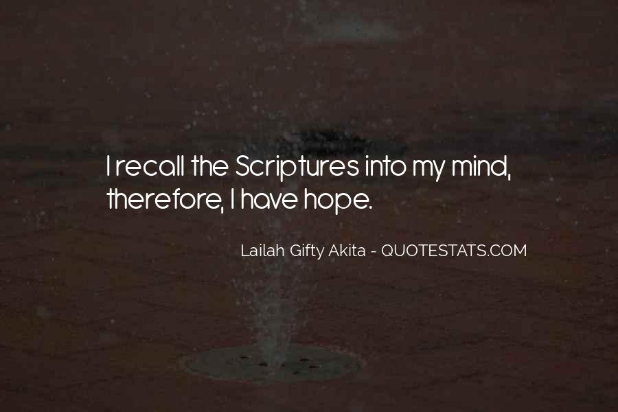 Quotes About Hope From The Bible #383865