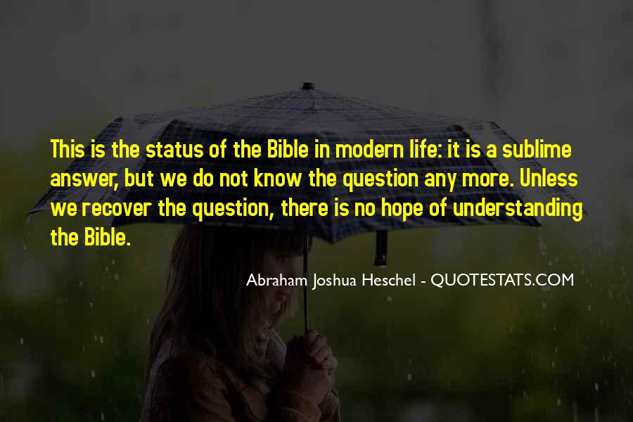 Quotes About Hope From The Bible #451660