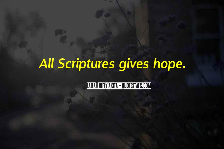 Quotes About Hope From The Bible #466242