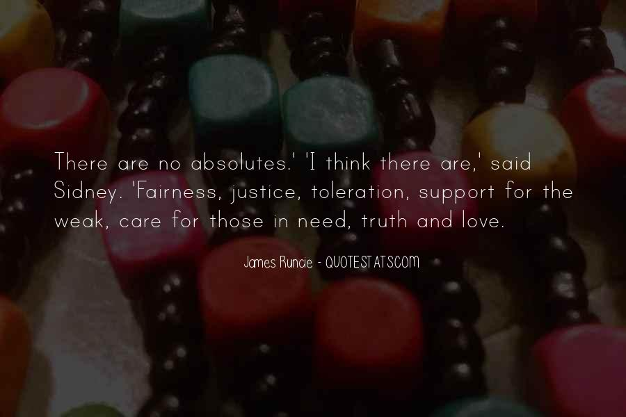 Quotes About Fairness And Justice #1636749