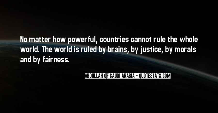 Quotes About Fairness And Justice #849301