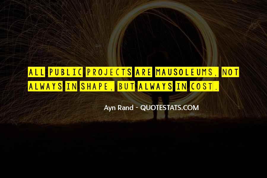 Quotes About Mausoleums #1632855
