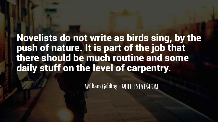Quotes About Birds And Nature #1462958