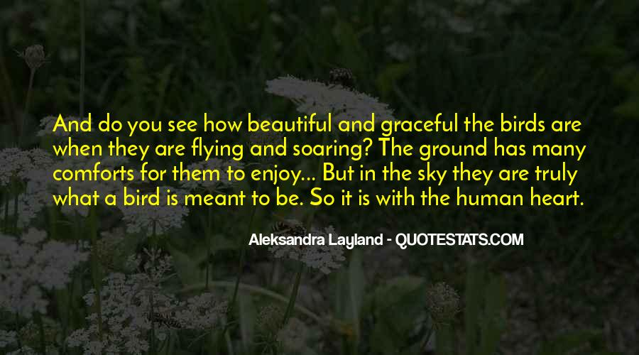 Quotes About Birds And Nature #1547539