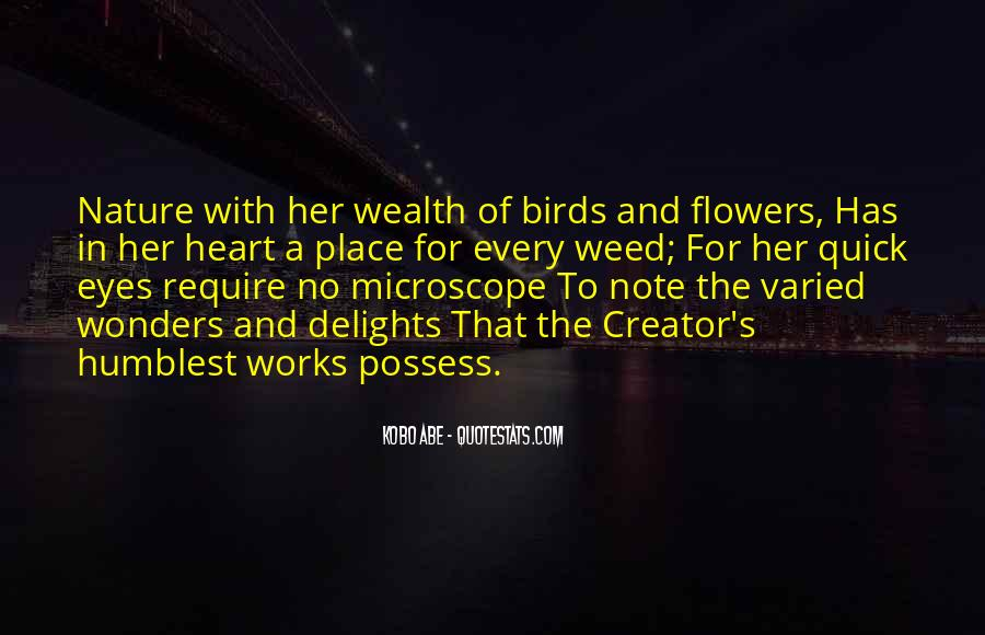 Quotes About Birds And Nature #1614457