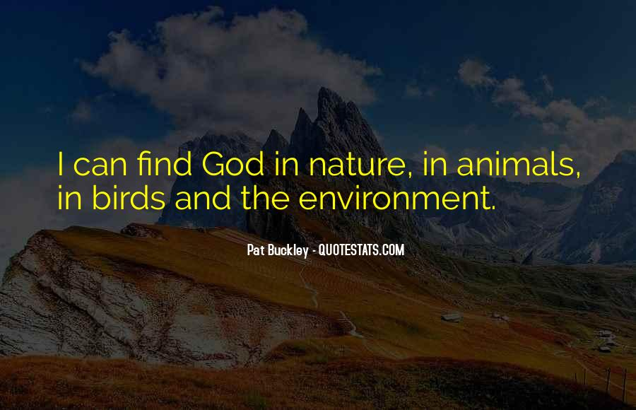 Quotes About Birds And Nature #1730689