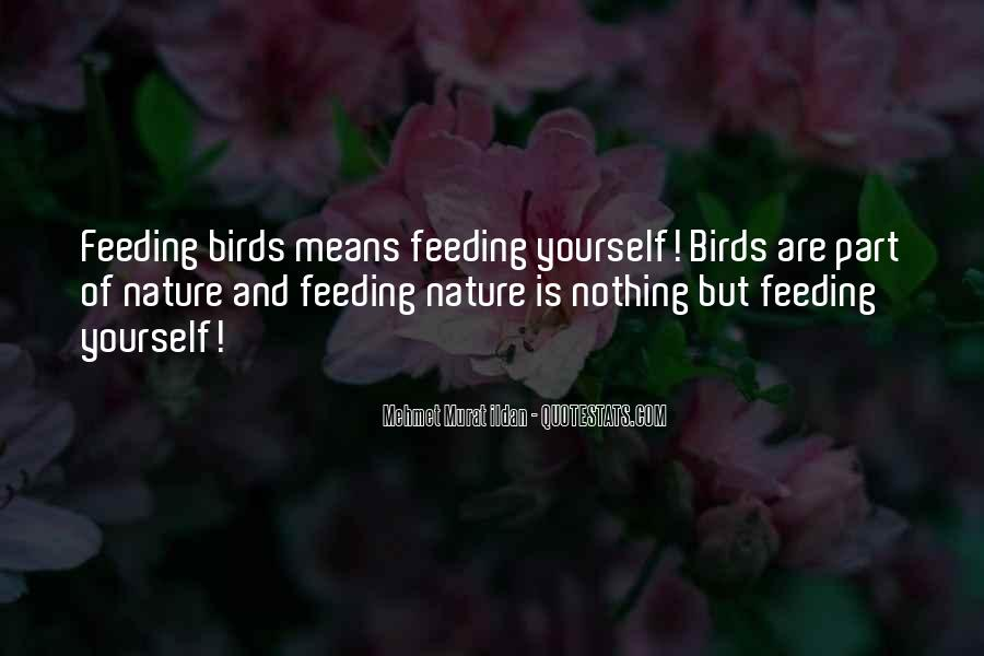 Quotes About Birds And Nature #1736556