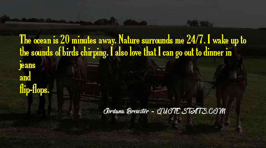 Quotes About Birds And Nature #1742665