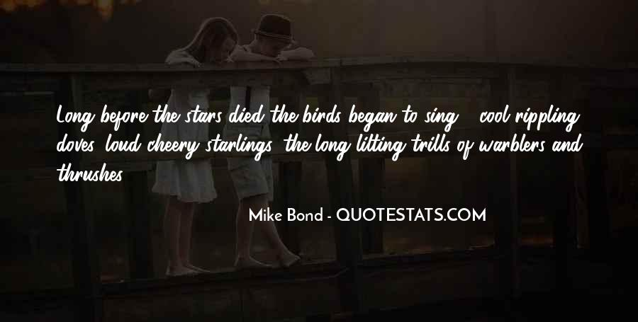 Quotes About Birds And Nature #1802732