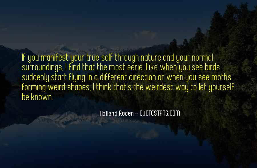 Quotes About Birds And Nature #674601