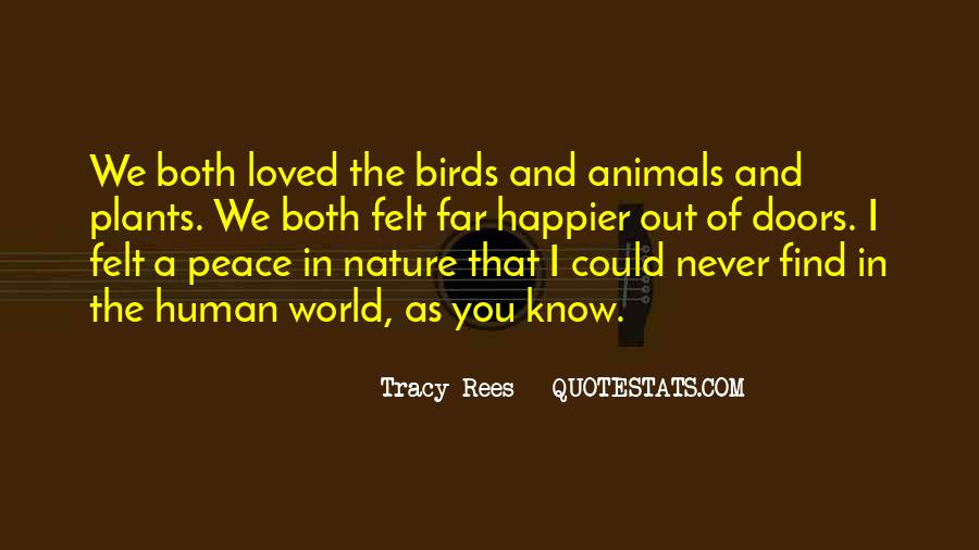 Quotes About Birds And Nature #985667