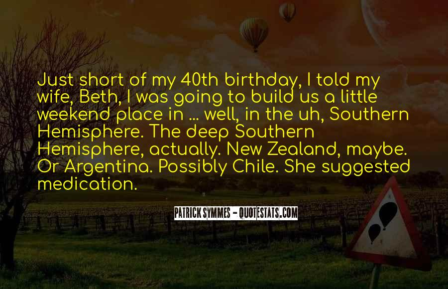 Quotes About My Own Birthday #7292