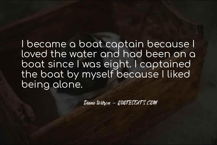 Quotes About Boat Captains #1188664
