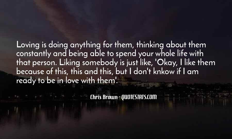 Quotes About Not Being Ready For Love #1180623