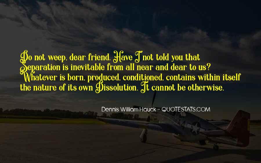 Quotes About Friend Separation #200029