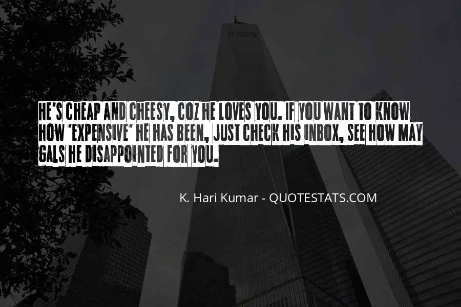 Quotes About Being Disappointed In The One You Love #1283348