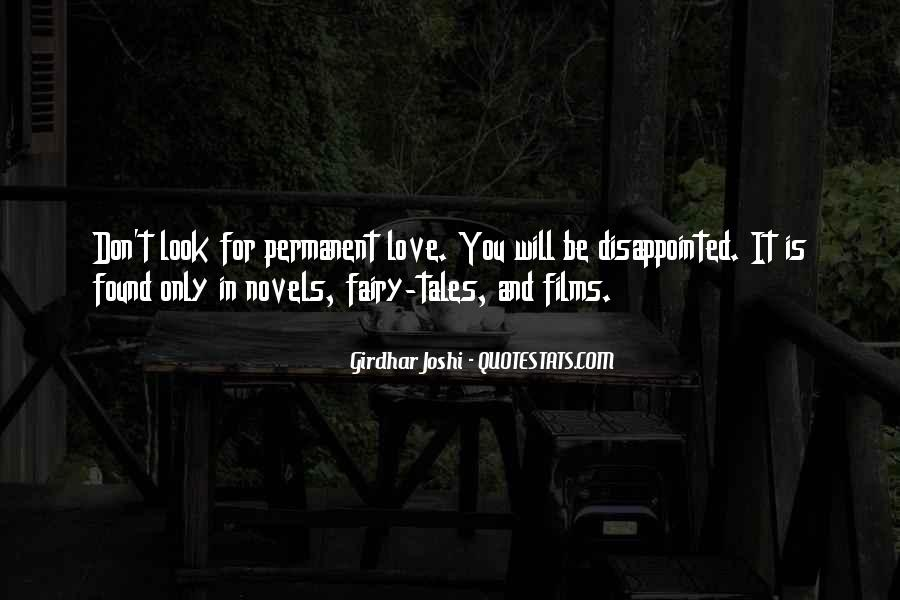 Quotes About Being Disappointed In The One You Love #297098