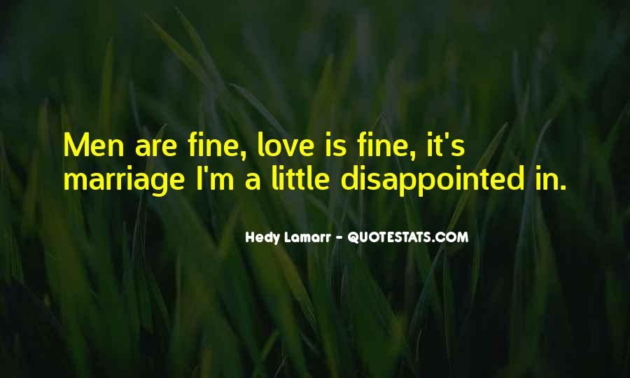Quotes About Being Disappointed In The One You Love #535775