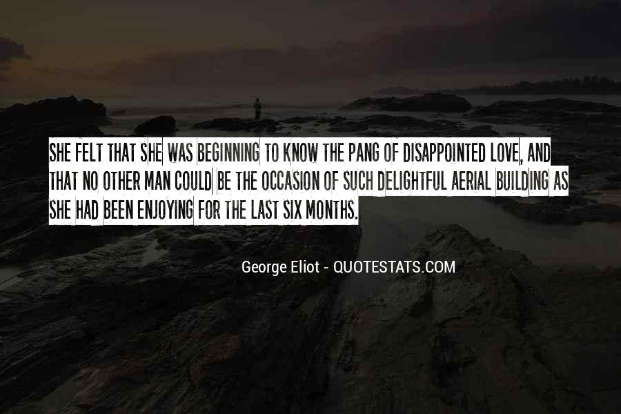 Quotes About Being Disappointed In The One You Love #618784