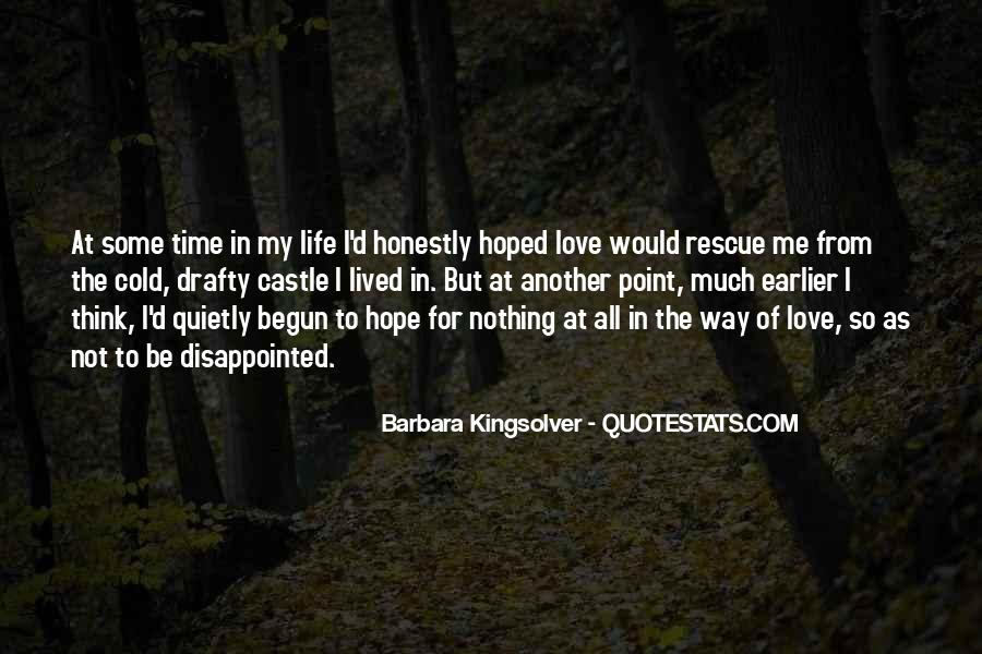 Quotes About Being Disappointed In The One You Love #848058