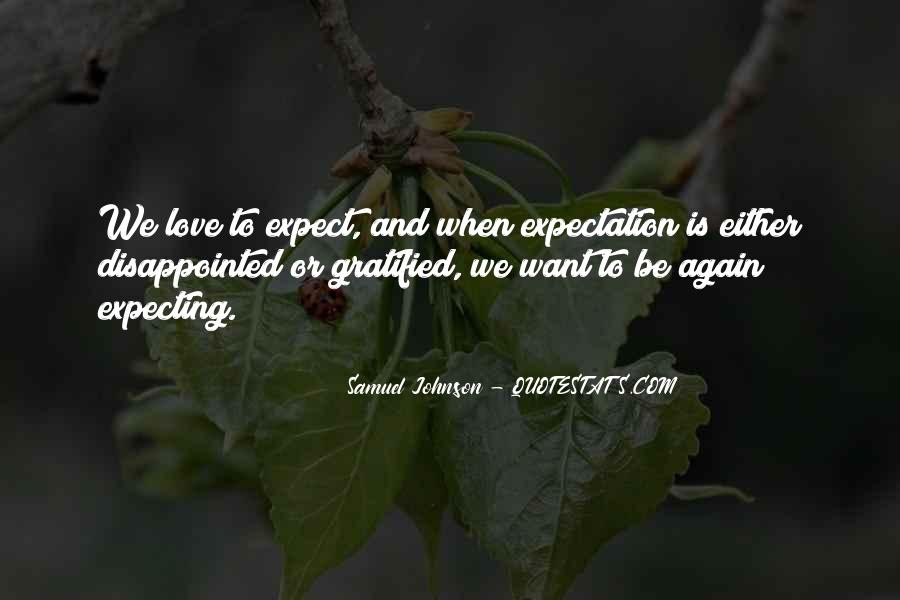 Quotes About Being Disappointed In The One You Love #849114