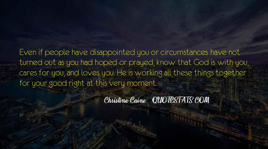 Quotes About Being Disappointed In The One You Love #894785