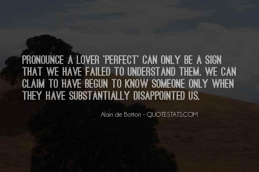 Quotes About Being Disappointed In The One You Love #90474