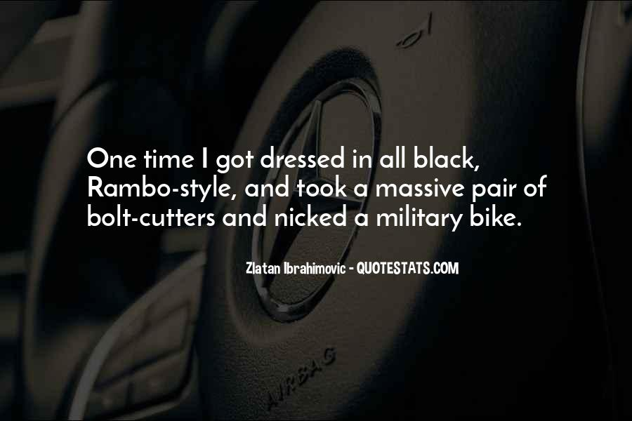 Quotes About All Black #95597