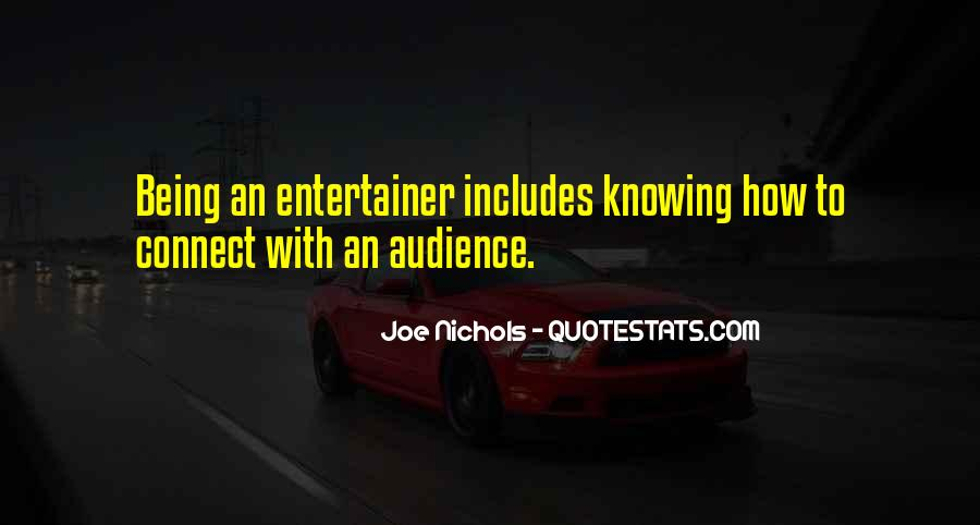 Quotes About Knowing Your Audience #39014