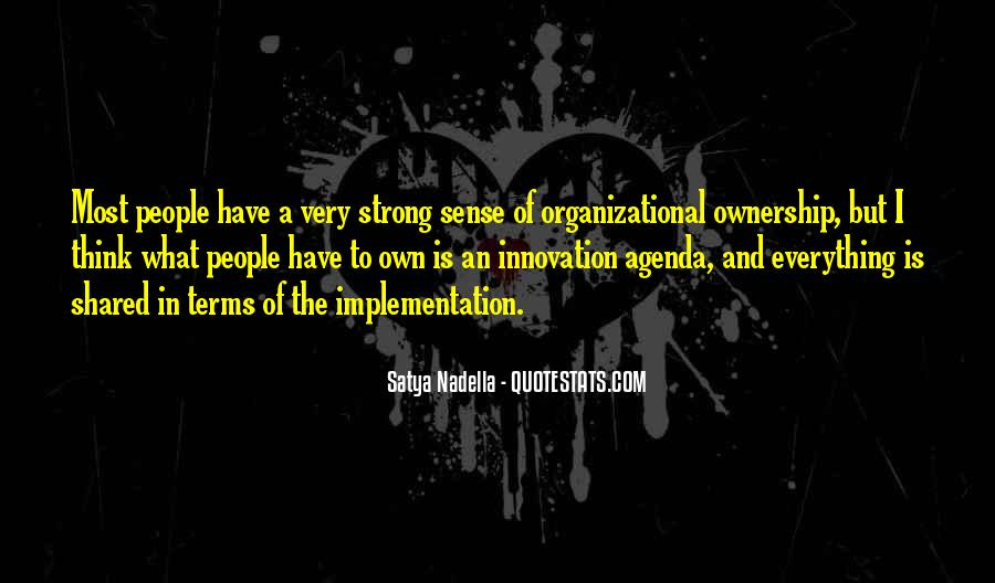 Quotes About Ownership And Sense Of Self #1146362