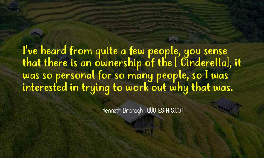 Quotes About Ownership And Sense Of Self #1807552