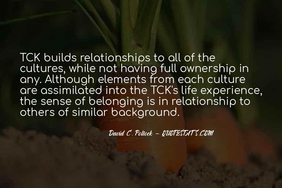 Quotes About Ownership And Sense Of Self #806625