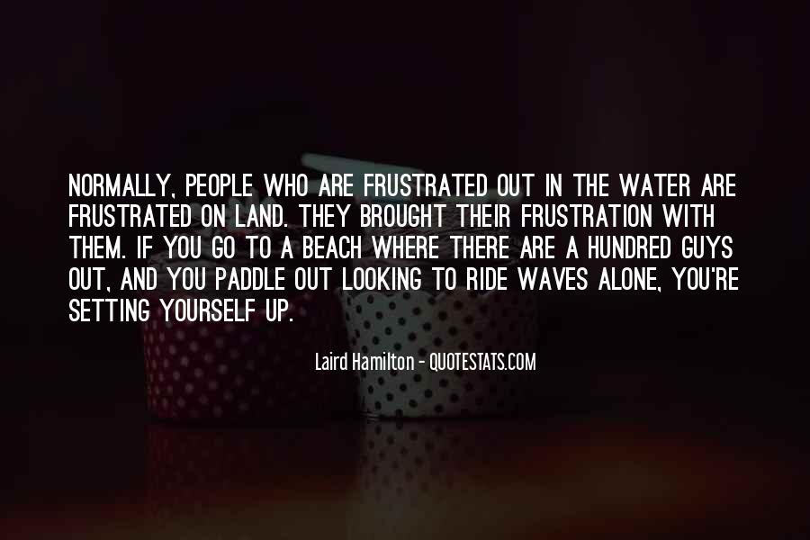 Quotes About Land And Water #1011378