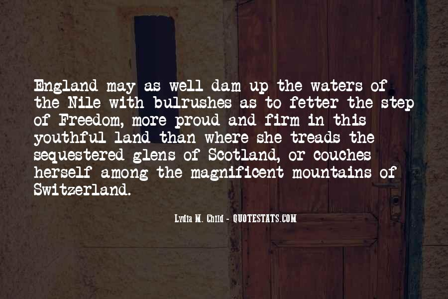 Quotes About Land And Water #1018786